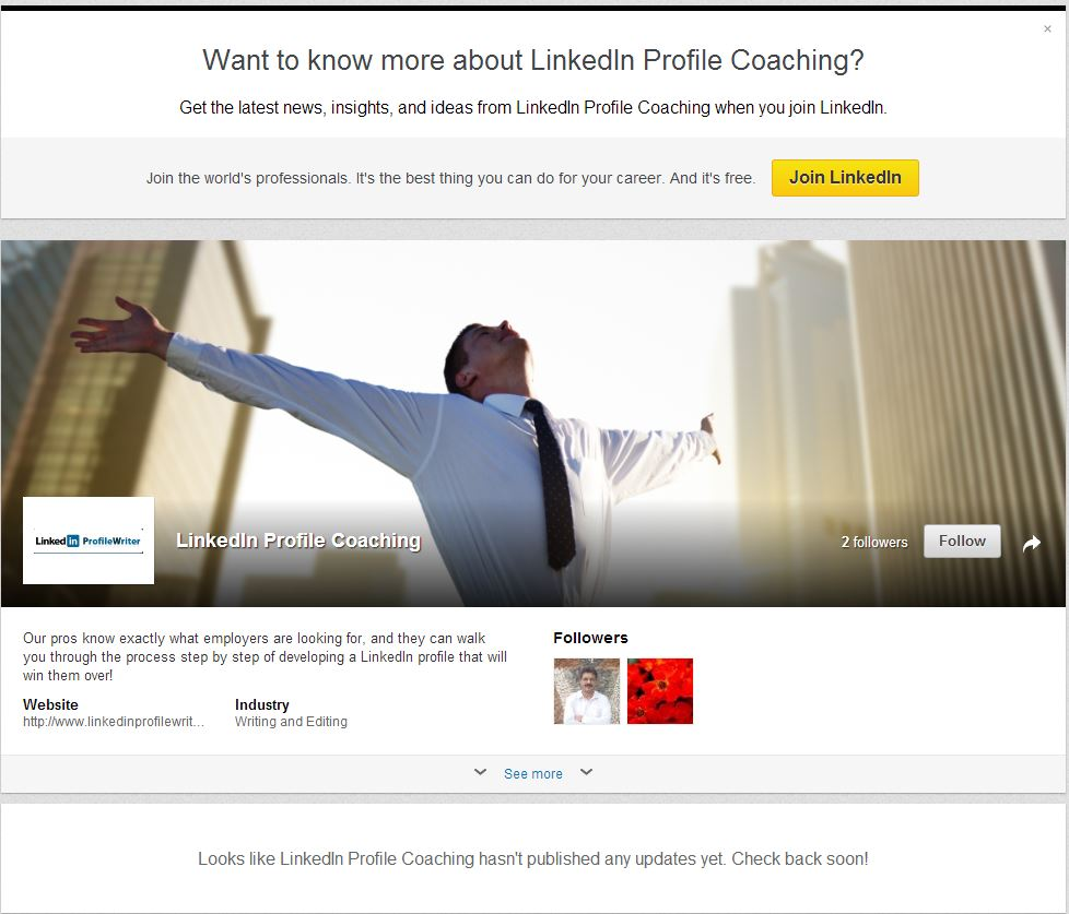 linkedin profile writing service minneapolis