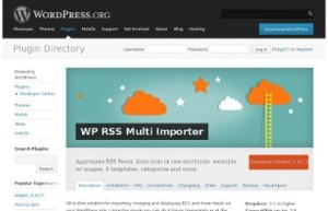 WP RSS multi importer