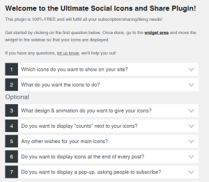 Ultimate Social Media and Share Icons