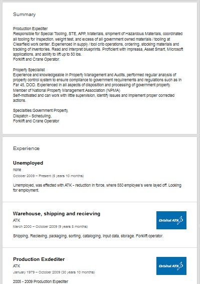 Production Expediter Linkedin Profile Review