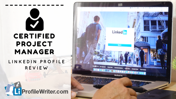 certified project manager best linkedin profile