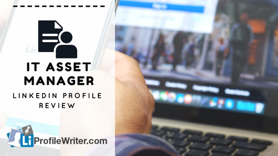 it asset manager best linkedin profile