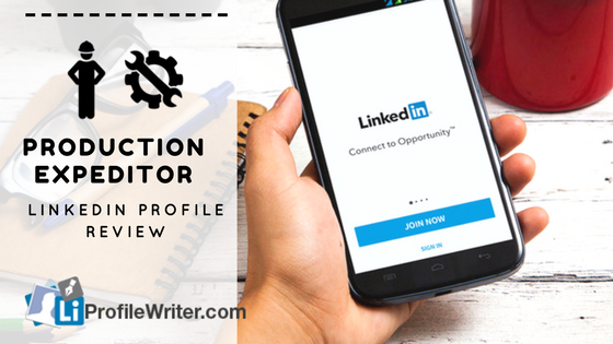 production expediter best linkedin profile