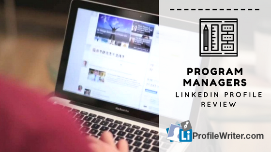 program managers best linkedin profile
