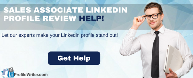 sales associate linkedin profile tips