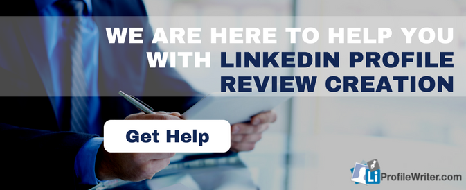 linkedin profile review help online