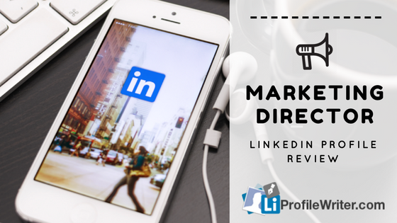 marketing director best linkedin profile