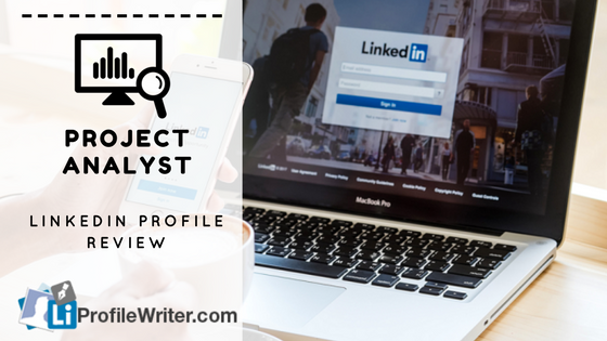 project analyst best linkedin profile
