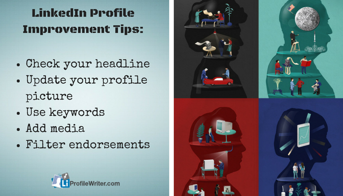 linkedIn profile improvement tips