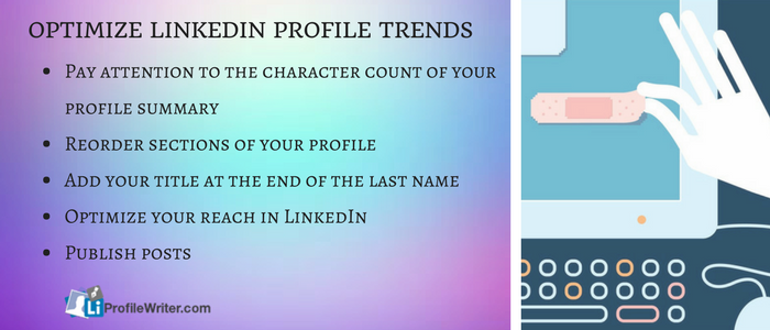 optimize linkedIn profile trends