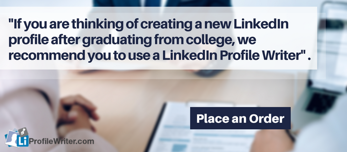 professional linkedin profile writer online