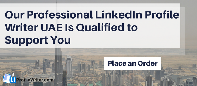 linkedin writing service uae