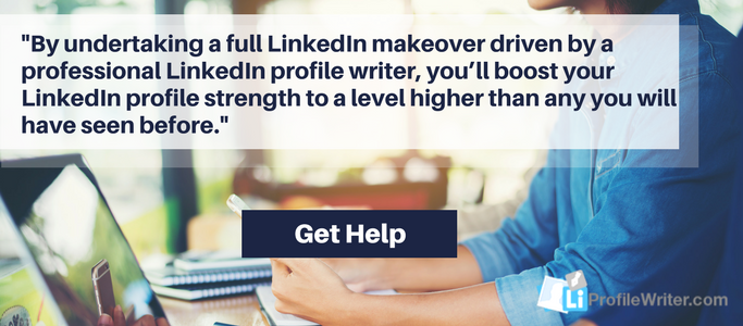 professional linkedin profile makeover help