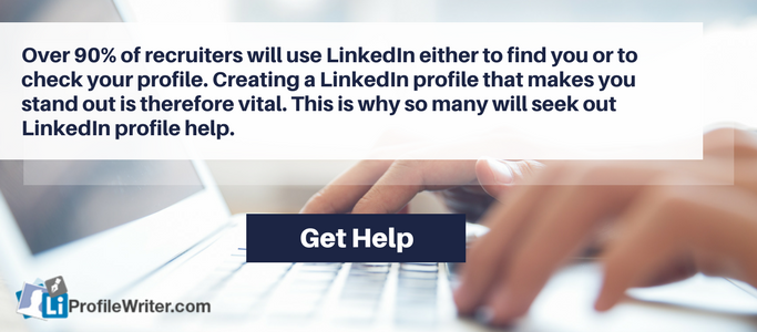 best help creating a linkedin profile
